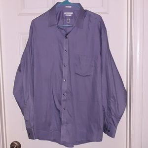 Van Heusen NWT size 18 grey dress shirt